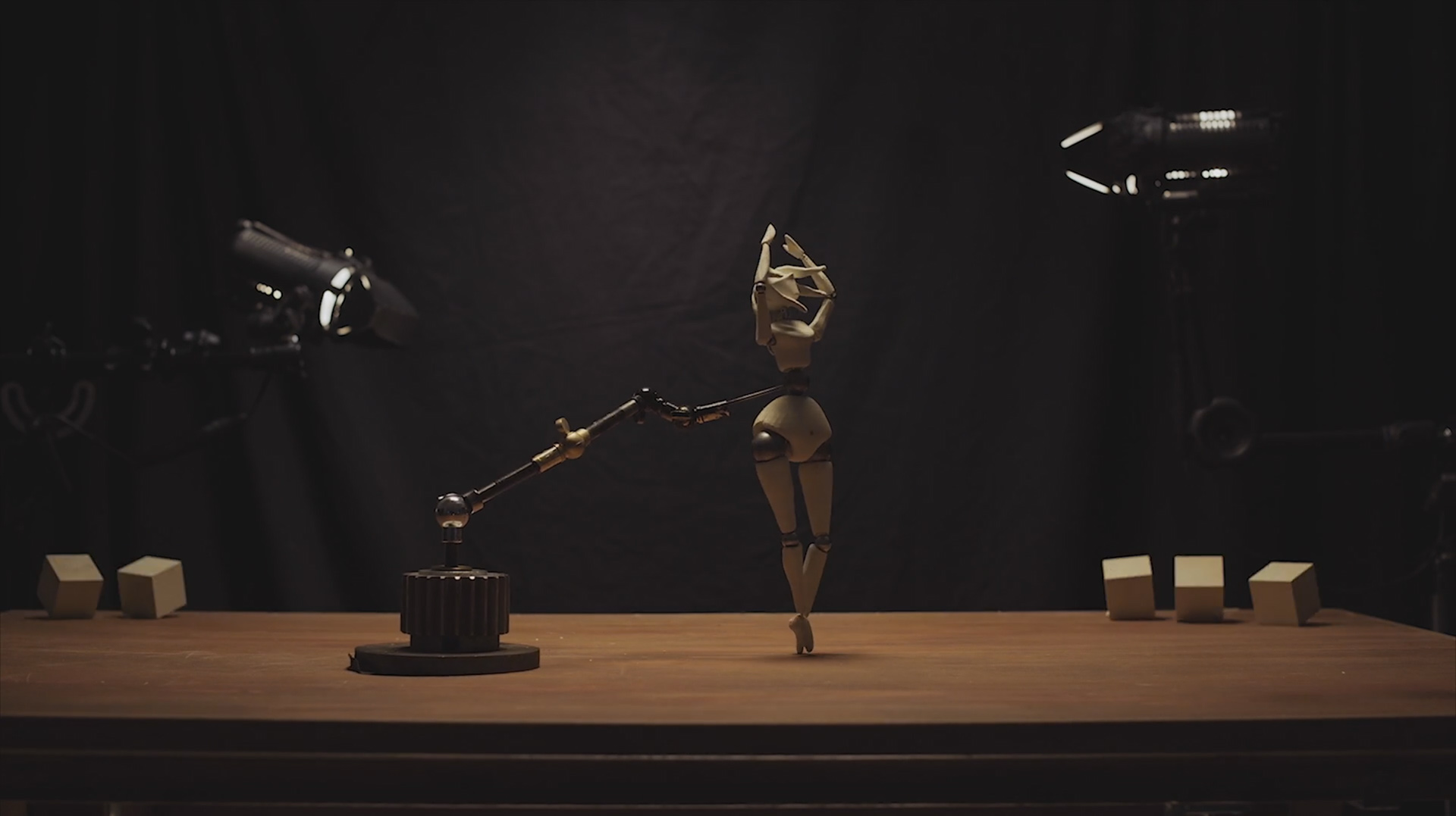 OSSA: dance performance in animation from Dario Imbrono
