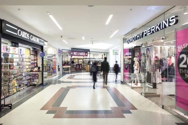 Уникальные осветительные приборы торгового центра Victoria Place от Hoare Lea Lighting