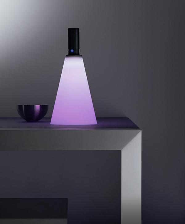 Использование фонаря как предмет обстановки в интерьере