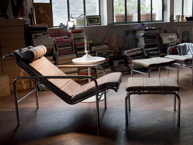 Фото откидных кресел. Кресло Zanotta Genni. Фото 1