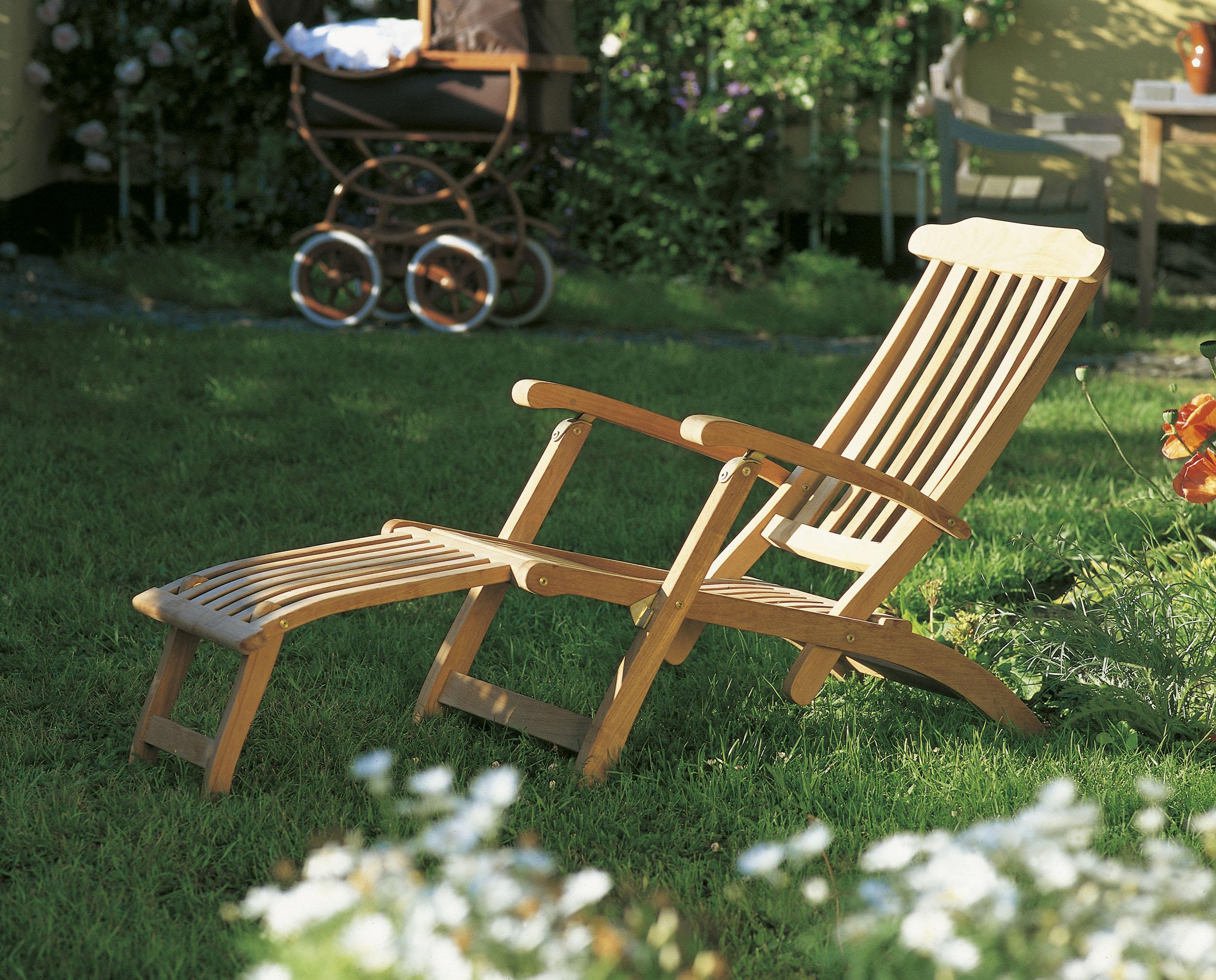 Фото откидных кресел. Кресло Skagerak Steamer