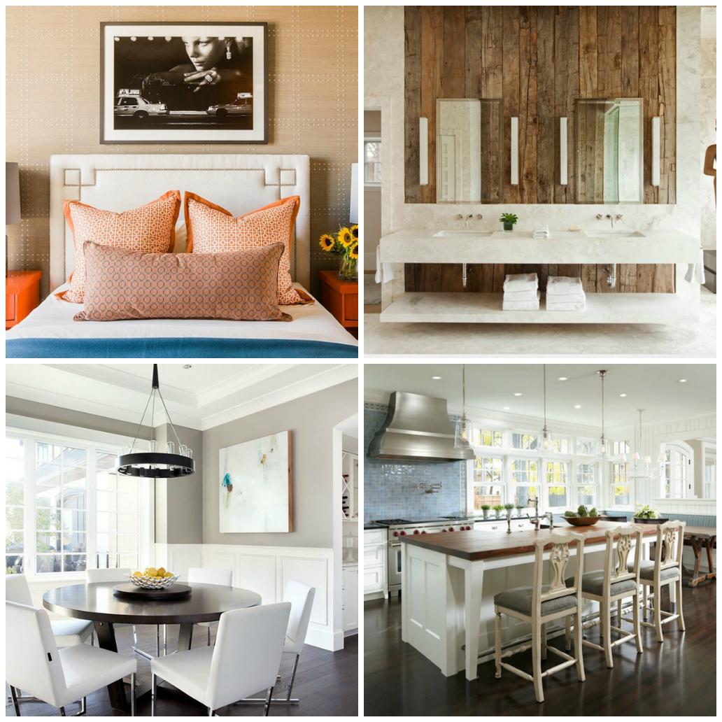Оригинальные дизайн в различных помещениях