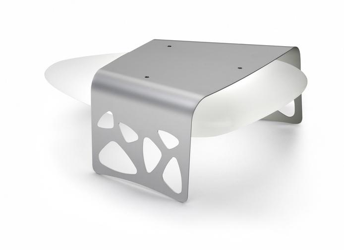 Удивительный дизайн необычного светильника «Каменный стол» Almalight