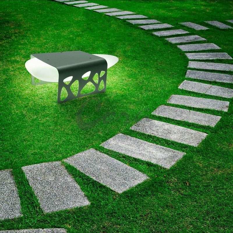 Восхитительный дизайн необычного светильника «Каменный стол» Almalight
