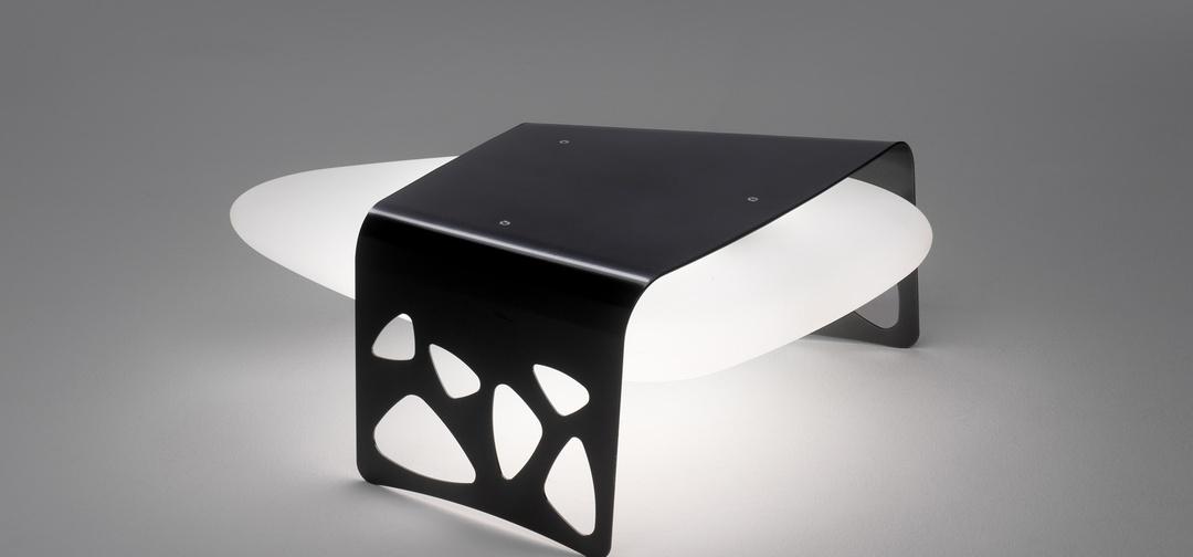Креативный дизайн необычного светильника «Каменный стол» Almalight