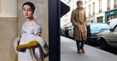 Проект Outings Жюльена Касабьянки вывел на улицы музейные шедевры