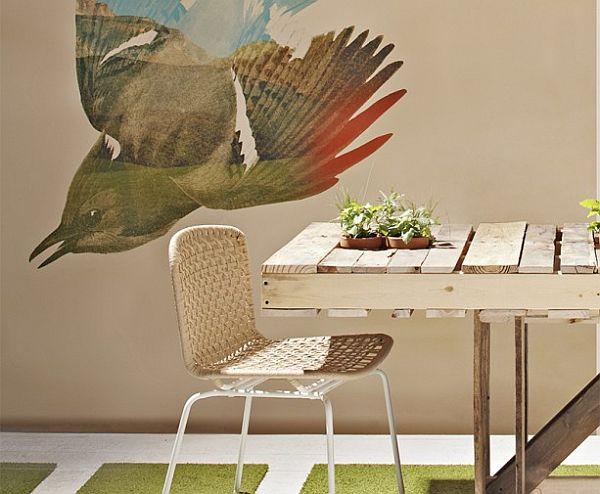 Небольшой стол для кухни из поддонов