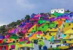Новый мурализм от Germen Crew: преображение района Пальмитас в мексиканском городе Пачука