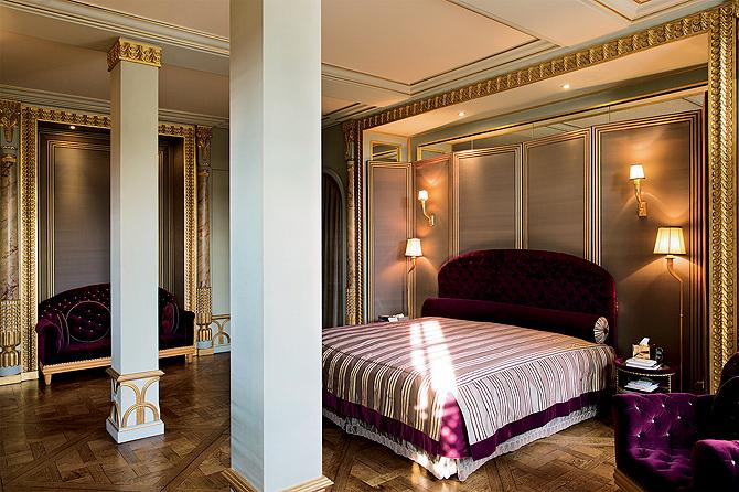 Красивый дизайн спальной комнаты