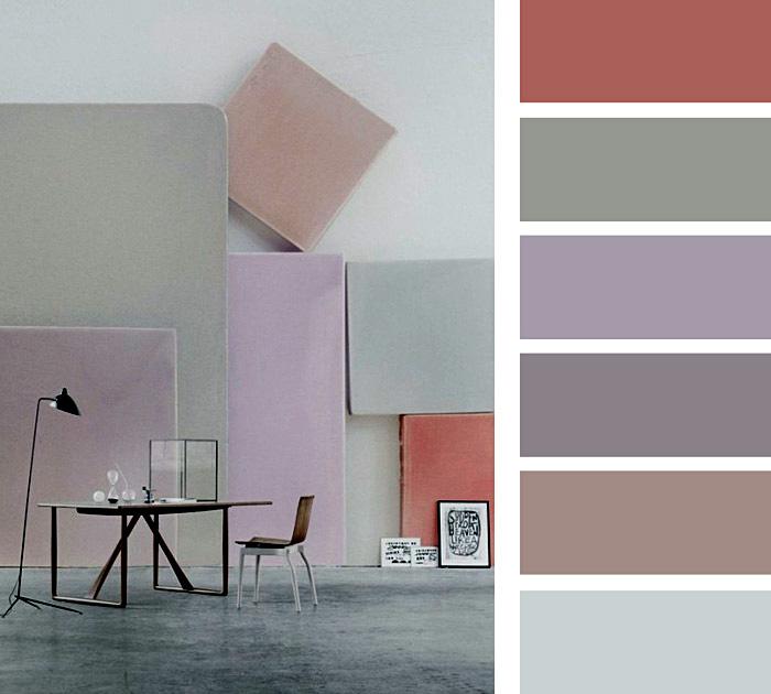 Выкраски различного цвета
