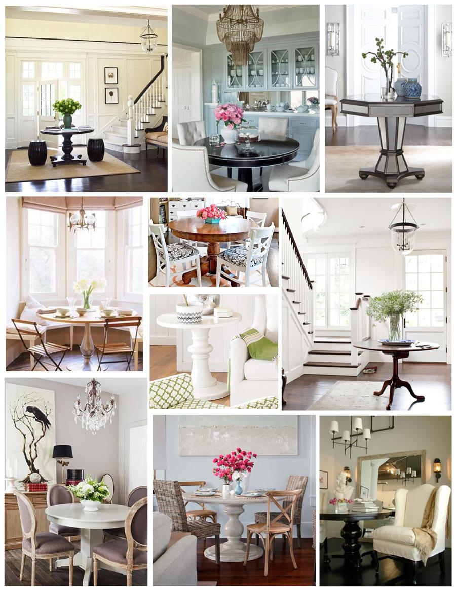 Красивые столы в интерьере