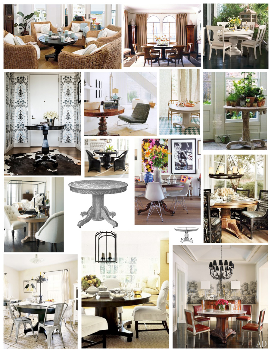 Чудесные столы в интерьере
