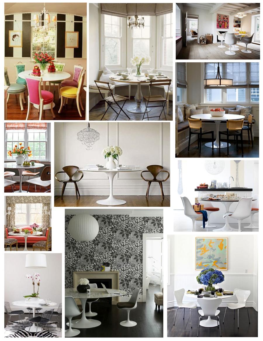 Очаровательные столы в интерьере