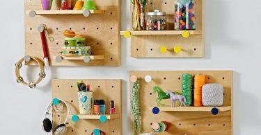 Пегборд в интерьере дома: подборка интересных вариантов