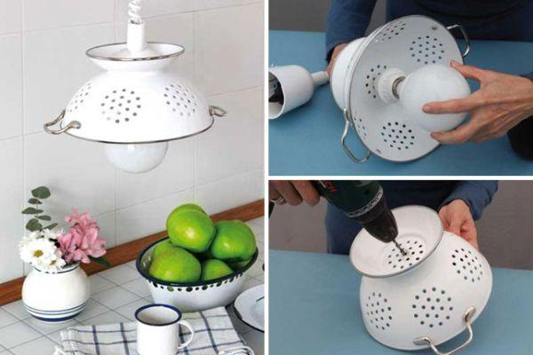 Как сделать абажур своими руками для кухни