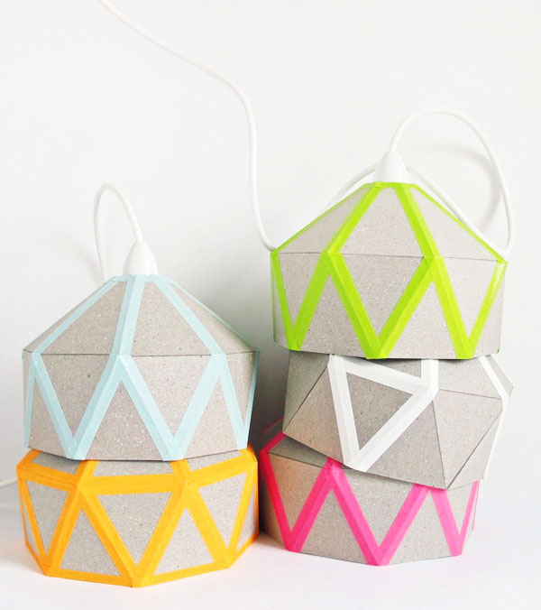Светильники в стиле стёганого одеяла