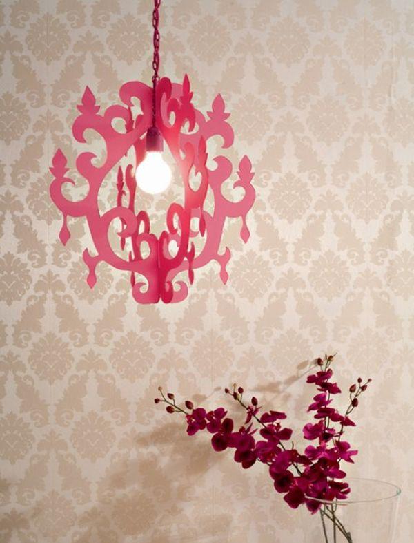 Ажурный светильник в стиле барокко