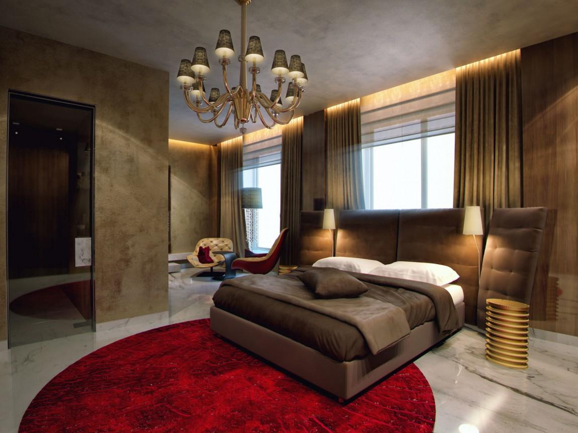 Потрясающие шторы в дизайне интерьера помещения
