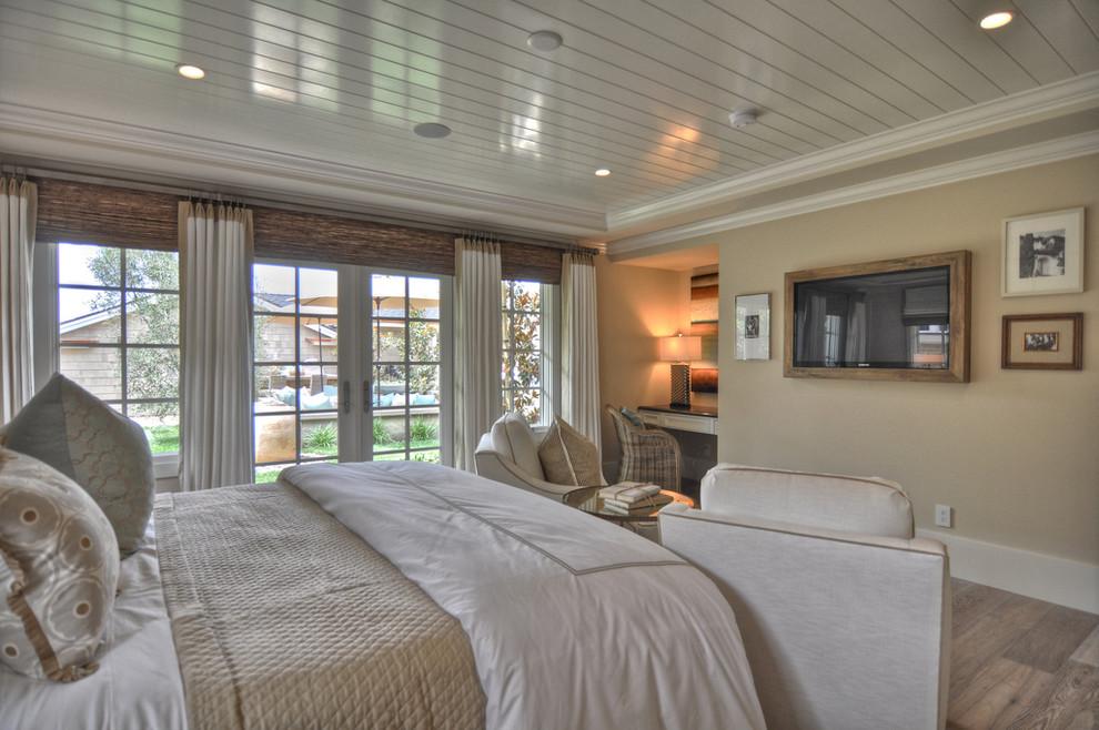 Спальня в переходном стиле