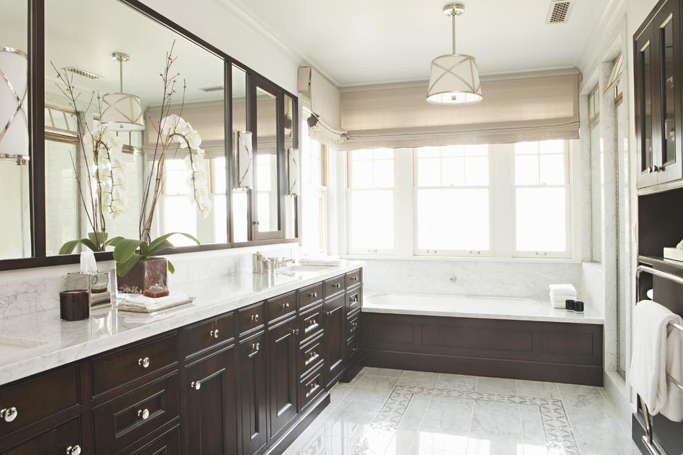 Интерьер роскошной ванной