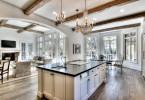 Роскошная кухня в переходном стиле
