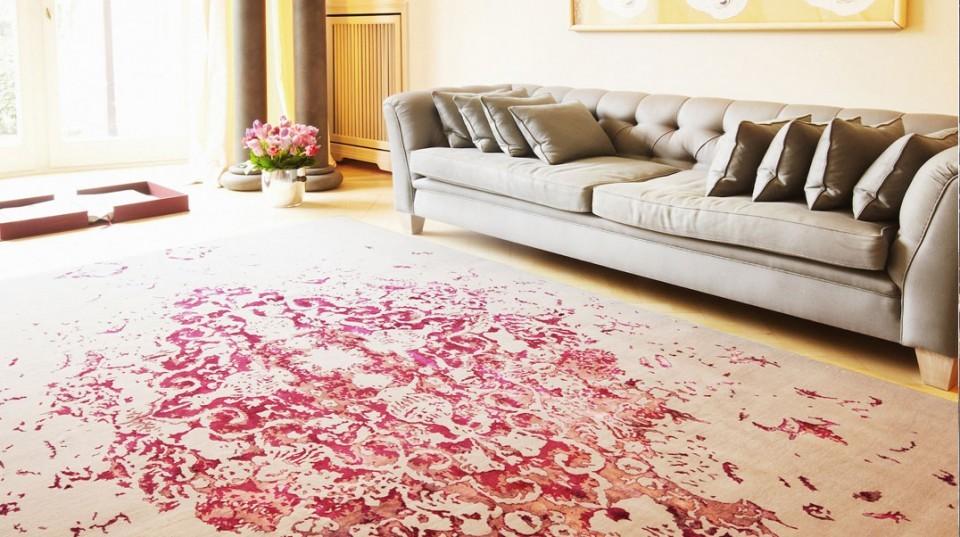 Персидские ковры в интерьере фото