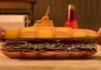 «Субмарина» от PES: анимированный рецепт приготовления сэндвича из спортивного реквизита