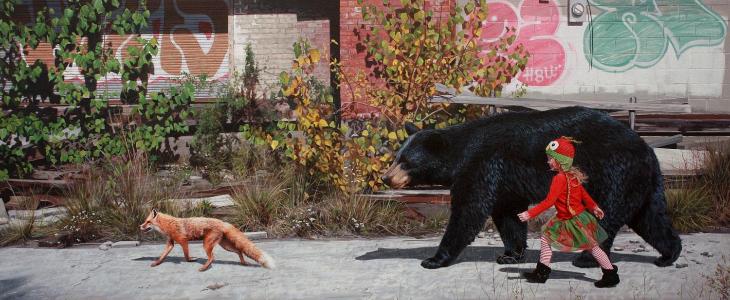 Картинки по запросу Гипер-реалистичные картины животных с детьми Кевин Петерсон