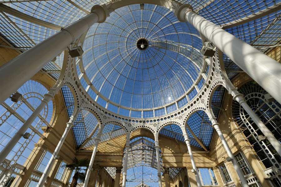 Фотография купола крыши в стиле Bug-eye