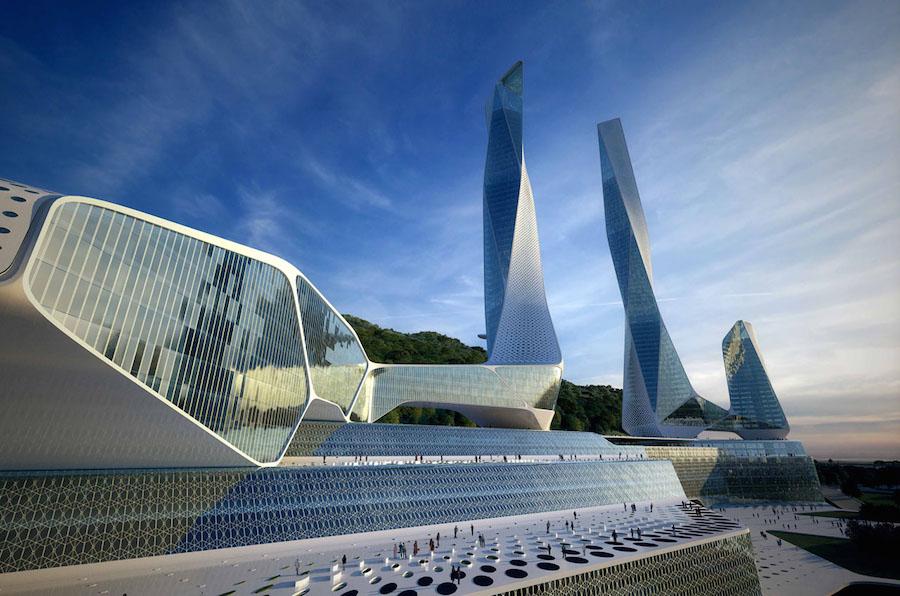 Всемирный городской центр на острове Пенанг (Малайзия)