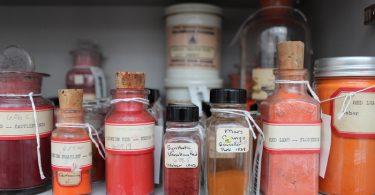 Красящие пигменты: впечатляющая коллекция Гарвардского университета
