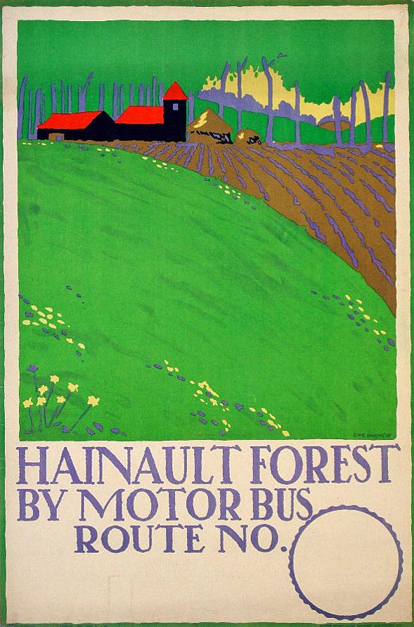 Природные плакаты для метро Эдварда Кауфера