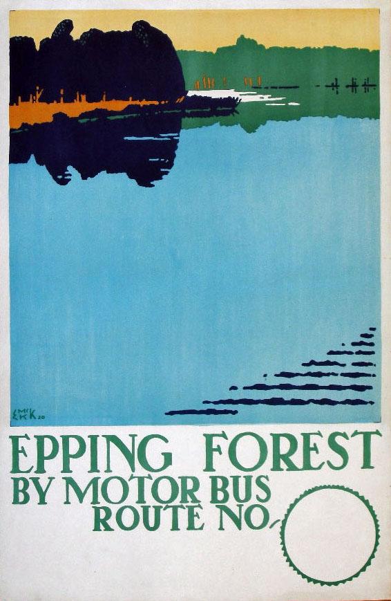 Плакаты с природой для метро Эдварда Кауфера