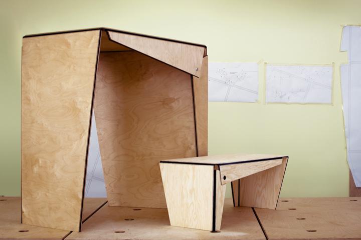 Дизайнерская мебель Plié collection
