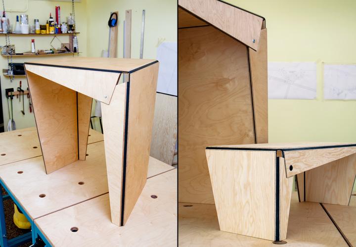 Красивая дизайнерская мебель Plié collection
