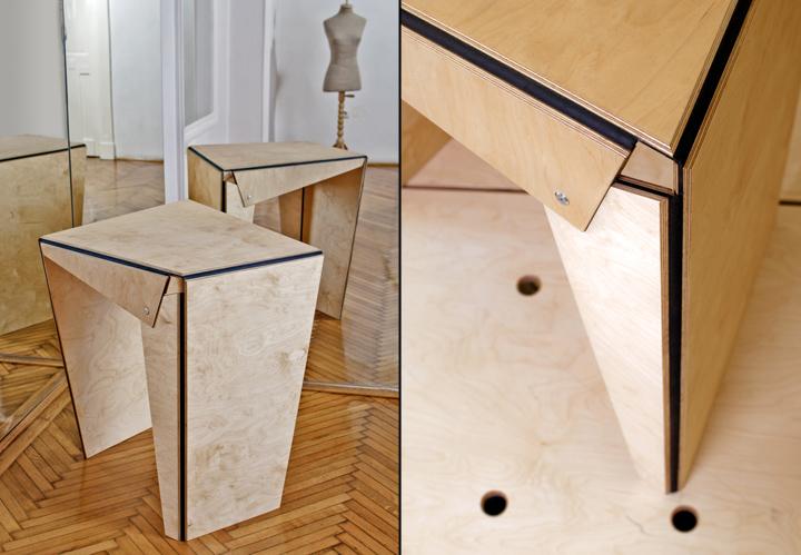 Чудесная дизайнерская мебель Plié collection