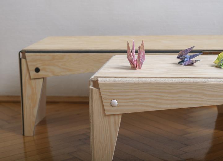 Необычная дизайнерская мебель Plié collection