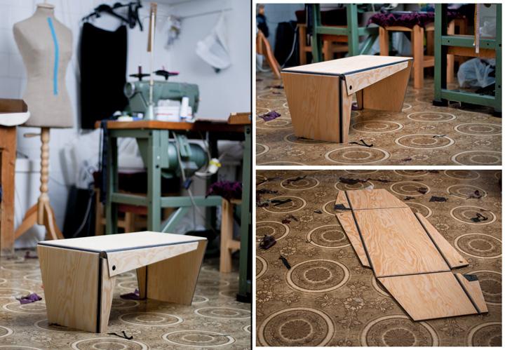 Креативная дизайнерская мебель Plié collection