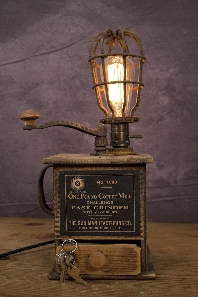 Светильник в промышленном стиле от Vintage Light Co