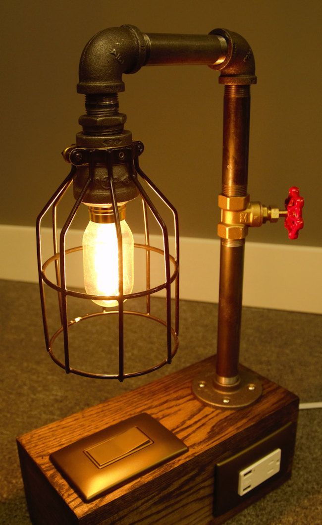 Светильник в промышленном стиле Home Pros Plus