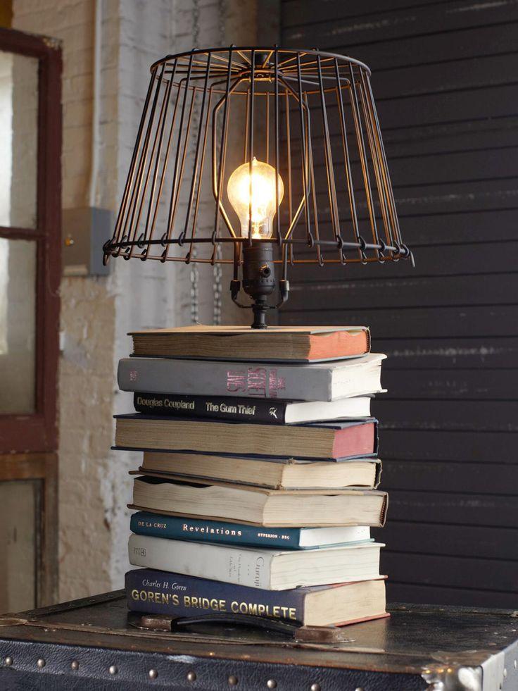 Светильник в промышленном стиле из DIY сети