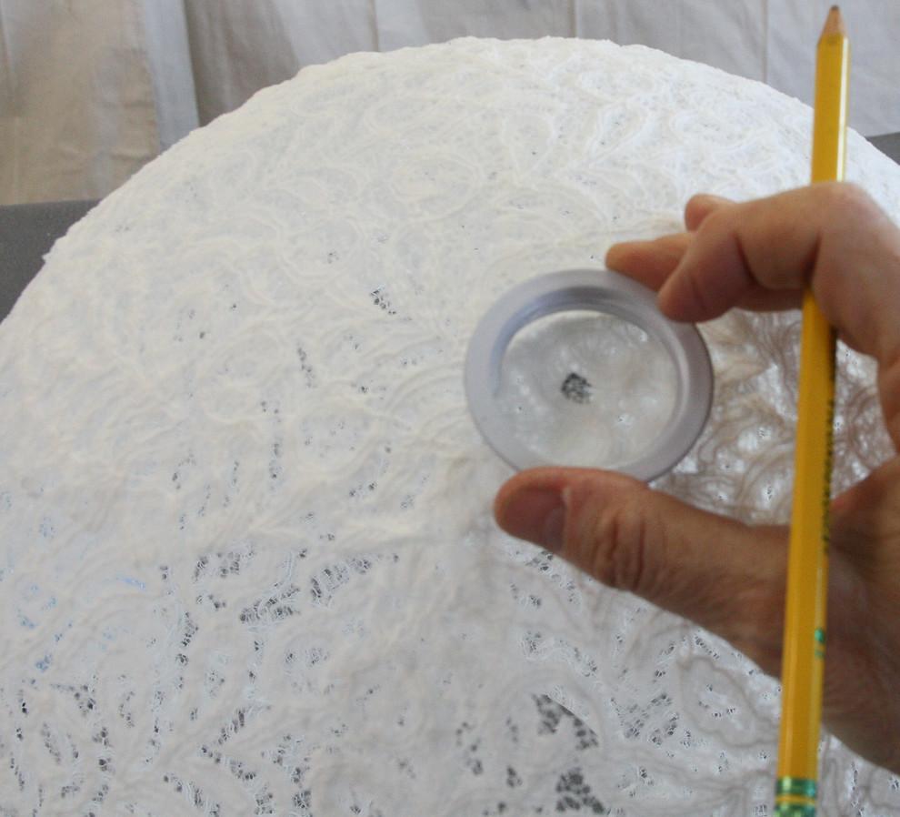 Необычный процесс создания подвесной люстры своими руками