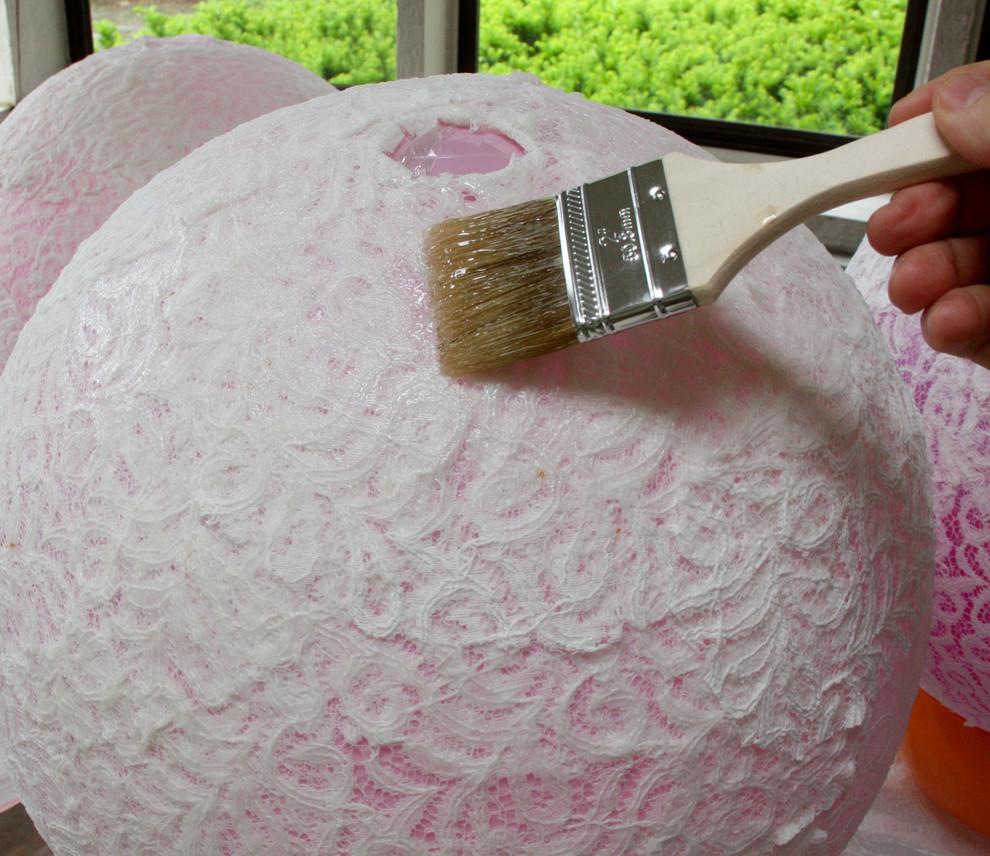 Удобный процесс создания подвесной люстры своими руками