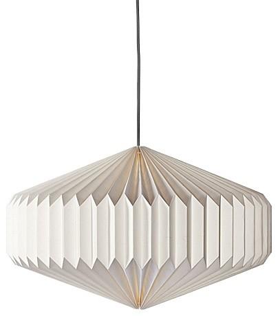 Уникальный подвесной светильник в виде оригами