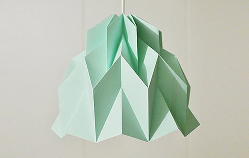 Креативный подвесной светильник в виде оригами