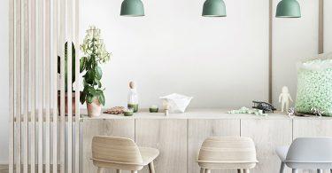 Подвесные светильники для комнаты: бамбуковая коллекция