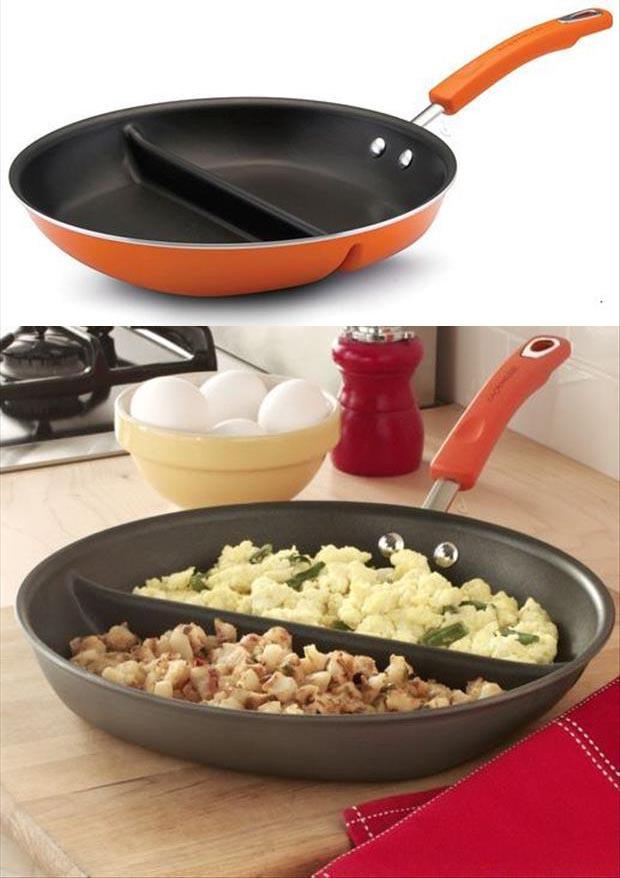 Полезные гаджеты: Сковорода для приготовления нескольких блюд