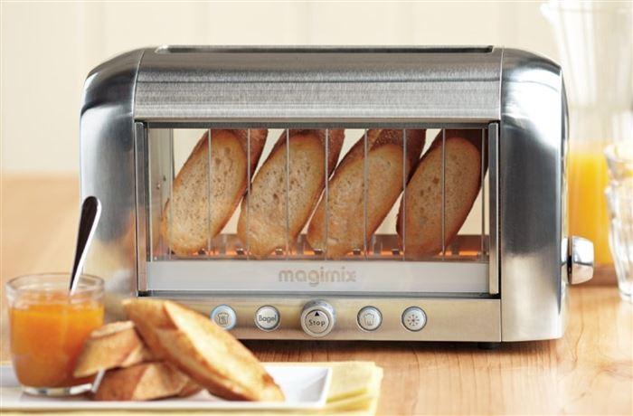 Полезные гаджеты: Тостер с прозрачной основой