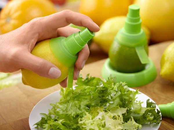 Полезные гаджеты: Пульверизатор для лимона
