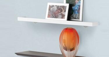 Настенные полки со скрытым креплением: вдохновляющие идеи для минималистского дизайна любого помещения